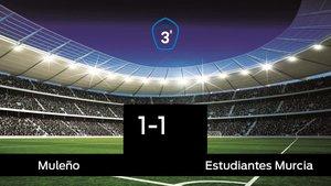 El Muleño y el Estudiantes Murcia empatan (1-1)