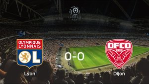 El Olympique Lyony el Dijon FCOse reparten los puntos en el Groupama Stadium (0-0)