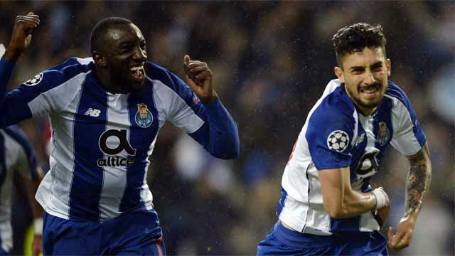 Porto complete extra-time comeback to eliminate Roma
