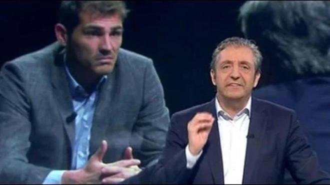 Pedrerol mete la pata...e Iker Casillas se alegra