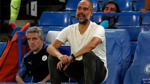 Pep Guardiola, técnico del City
