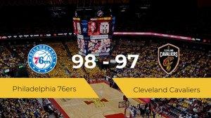 Philadelphia 76ers se impone por 98-97 frente a Cleveland Cavaliers