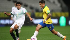 Philippe Coutinho es protagonista en la goleada de Brasil