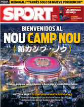 La portada de SPORT del 9 de marzo