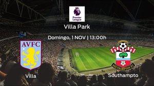 Previa del partido: Aston Villa - Southampton