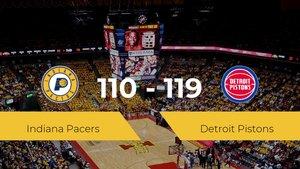 Primera jornada de la NBA: Indiana Pacers 110 - 119 Detroit Pistons