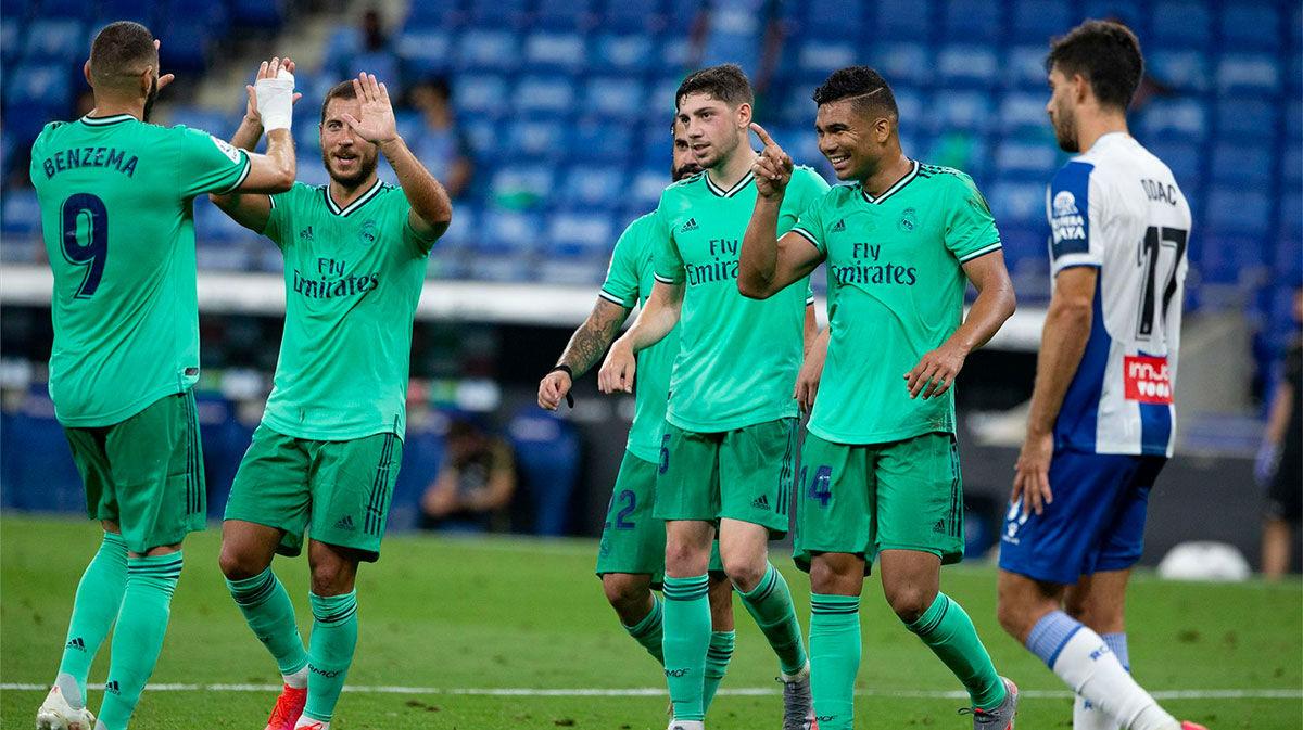 El Real Madrid toca y hunde al Espanyol