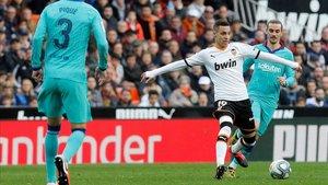 Rodrigo puede estar viviendo sus últimos horas como jugador del Valencia
