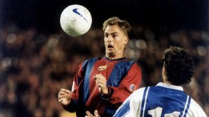 Ronald de Boer marcó el gol de la victoria en su debut ante el Benidorm
