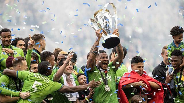 Ruidíaz, Lodeiro y el español Víctor Rodríguez dan título a los Sounders de la MLS