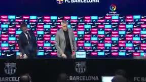 Setién: Estoy satisfecho porque es lo que el Barça siempre ha hecho antes de que yo llegara