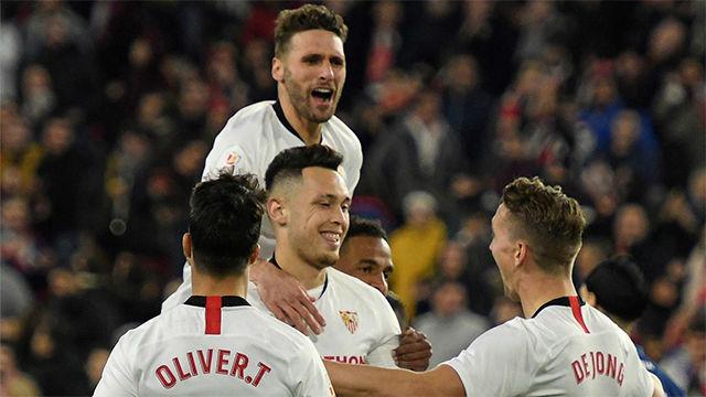 El Sevilla pasa a octavos de la Copa del Rey