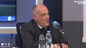 Tebas: ¿Casillas o Rajoy? El que no me gusta es Rubiales; a partir de ahí...