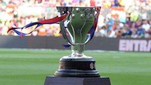 El trofeo ya se encuentra en Valdebebas