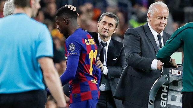 Valverde, sobre Dembélé: A ver si podemos ayudarle