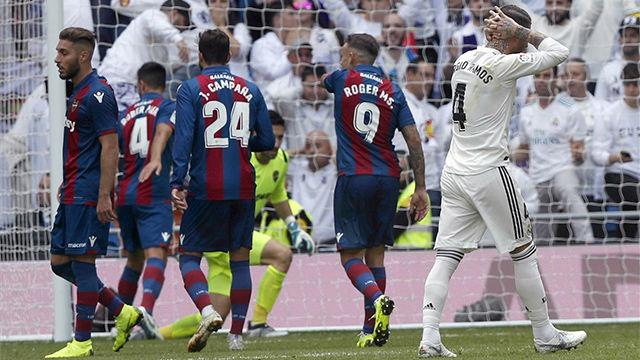 Vea el resumen del enésimo tropiezo del Madrid en liga