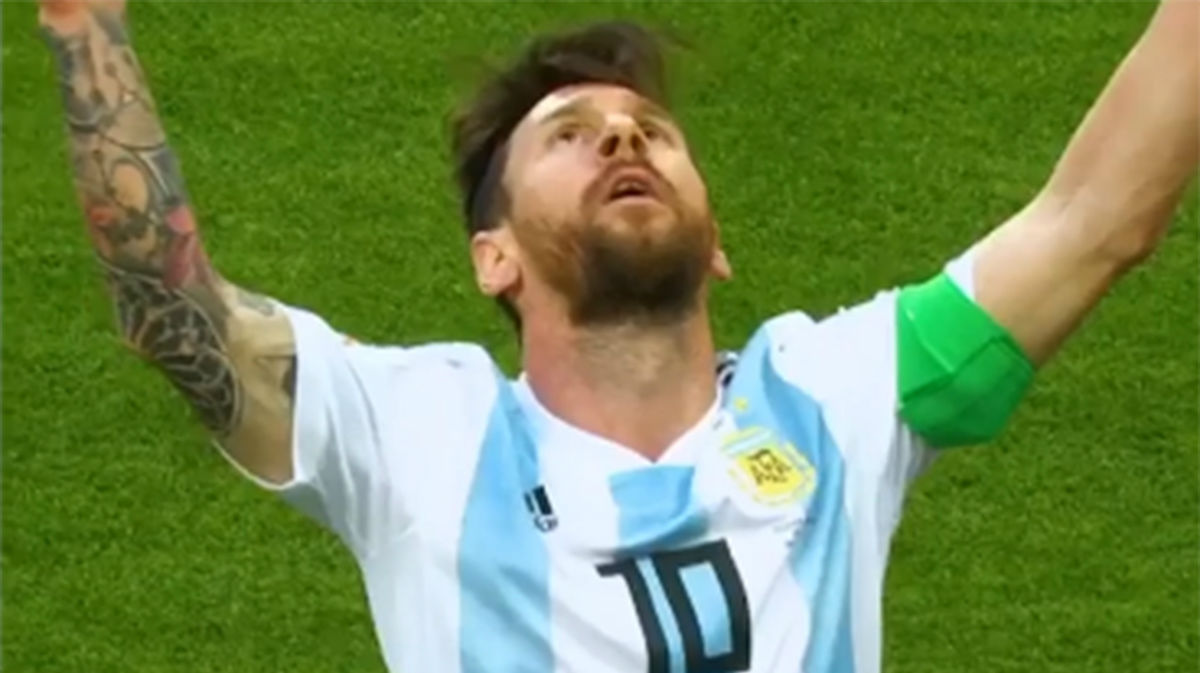 El video de Adidas sobre Messi con la cuenta atrás del fútbol