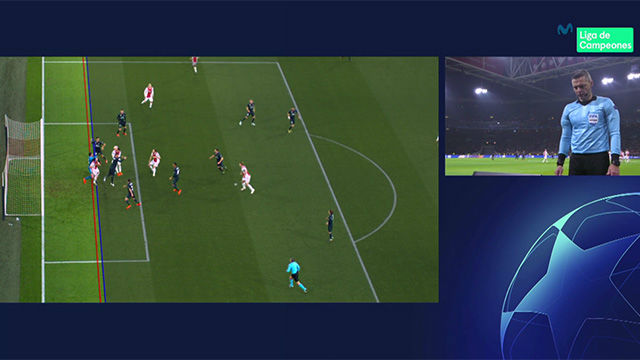 El video que confirma el escándalo del VAR en el gol anulado al Ajax
