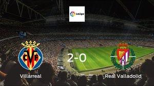 Villarreal cruise to a 2-0 victory over Valladolid at Estadio de La Ceramica