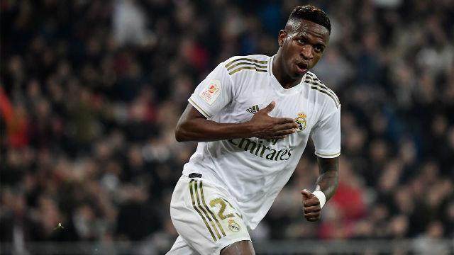 Vinicius, titular ante el Manchester City