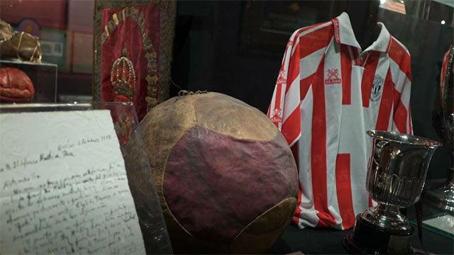 Visita virtual al museo de la selección: el homenaje al decano del fútbol español