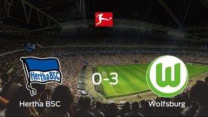 El Wolfsburg le arrebata los tres puntos al Hertha BSC (0-3)