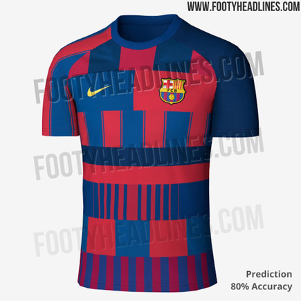 Barcelona's Potential Leaked Photos Kit 2019-20