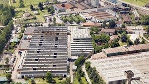 Fábrica de Nissan en los Corrales de Buelna.