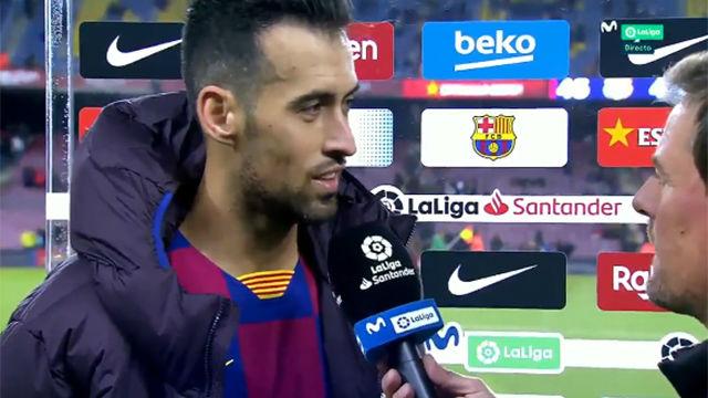 """Busquets: """"Jugar contra el Atlético siempre es difícil"""""""