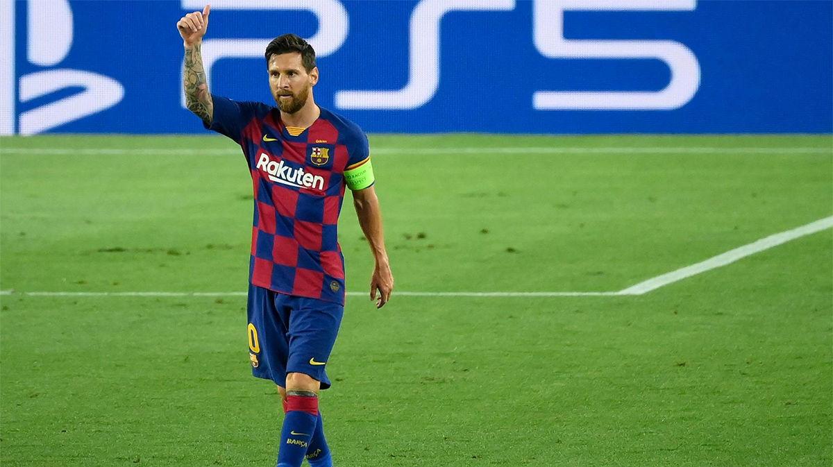 El 1x1 del Barça ante el Nápoles en el descanso