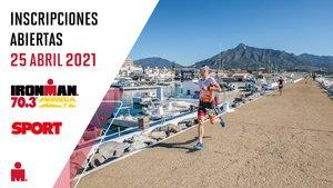 Abiertas inscripciones Ironman 70.3 Marbella (ES)