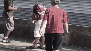 Un aficionado pierde la mano tras explotarle una bengala en la Copa de Brasil | Medio Tiempo
