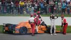 Alonso tuvo que abandonar las 500 Millas de Indianápolis a 21 vueltas del final