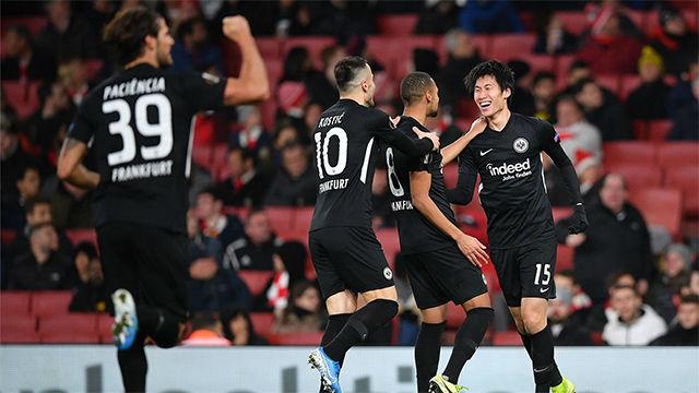 El Arsenal de Emery tampoco gana ante el Eintracht de Frankfurt