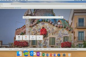 Así se ve Microsoft Edge para MacOS