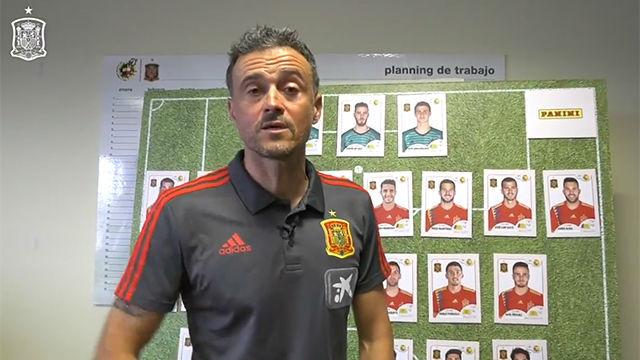 Así presentó Luis Enrique la nueva lista de convocados...¡con Jordi Alba!