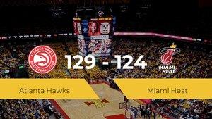 Atlanta Hawks se impone por 129-124 frente a Miami Heat