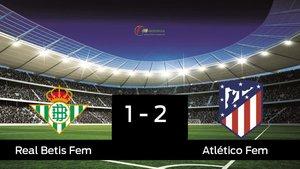 El Atlético de Madrid Femenino gana en la Ciudad Deportiva Luis del Sol al Betis Féminas