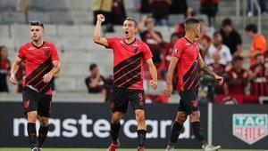 Atlético Paranaense obtuvo una victoria fácil ante el Jorge Wilstermann de Bolivia