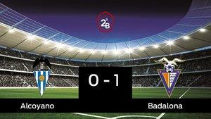 El Badalona ganó en el estadio del Alcoyano
