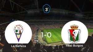 La Bañeza se lleva tres puntos tras vencer 1-0 al Real Burgos CF