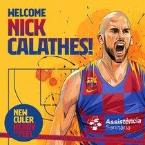 El Barça le da la bienvenida a Calathes