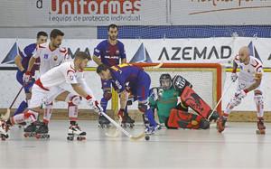 Barça Lassa y Reus Deportiu se vieron las caras en la Supercopa de España