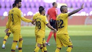 El Barça marcha líder al descanso (ES)