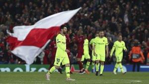 El Barcelona volverá al torneo local después de ser humillados por el Liverpool en la semana