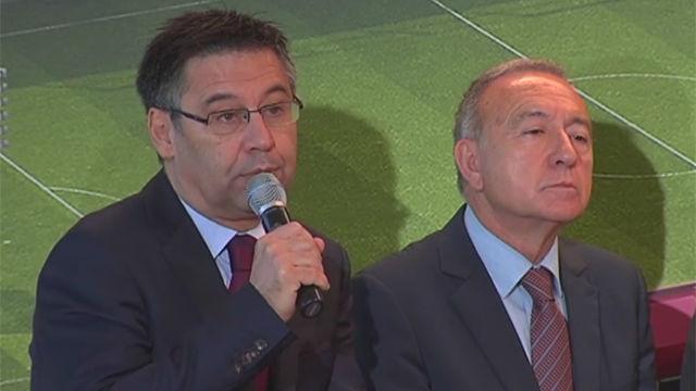 Bartomeu ratificó las palabras de Gerard Piqué