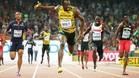 Bolt, el gran protagonista de los Mundiales
