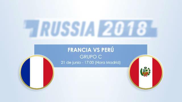 Cara o cruz para Perú ante una Francia que quiere convencer