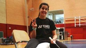 Carolina Marín asegura que regresará cuando esté al 200%