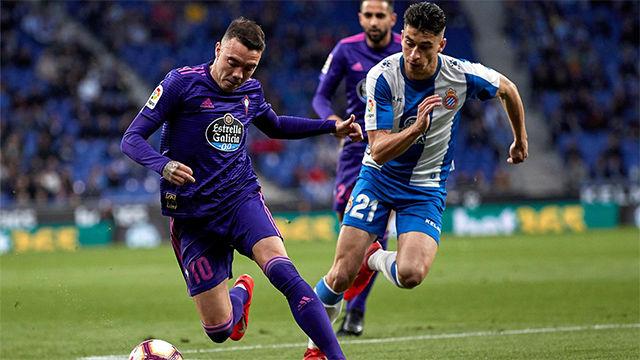 El Celta descarta las opciones europeas del Espanyol